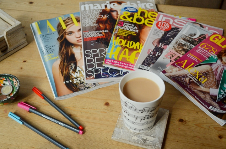 Glitz, Glamour and Gibberish | My Guide to Beauty Magazines