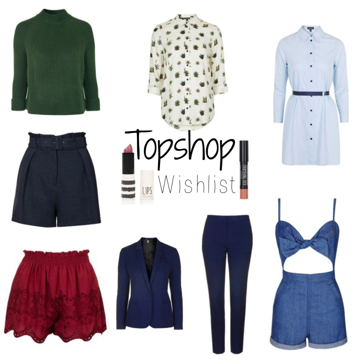 Topshop Wishlist | Spring2016