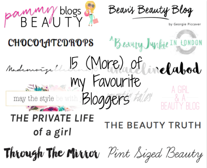 15 more Bloggers I'm Loving | May 2016