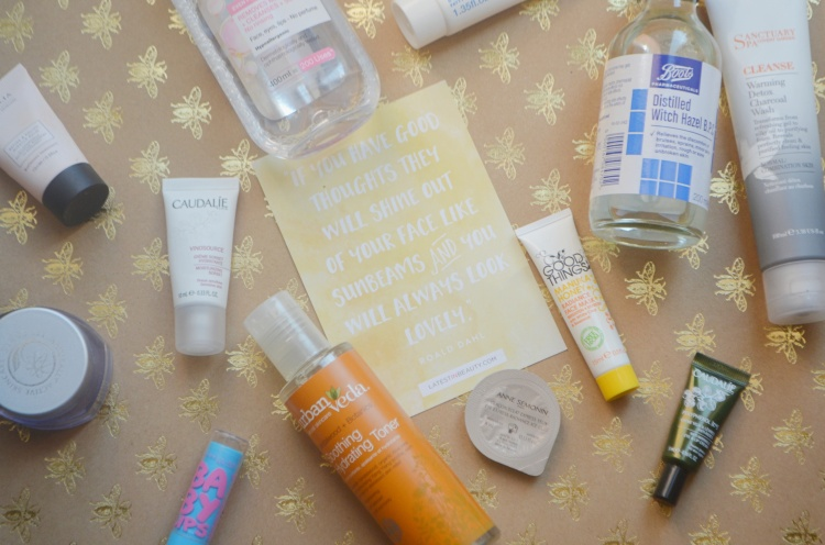 Skincare Flatlay