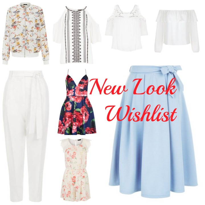 New Look//Clothing Wishlist