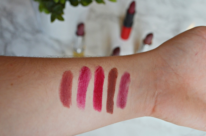Top 5 Autumn/Fall Lips