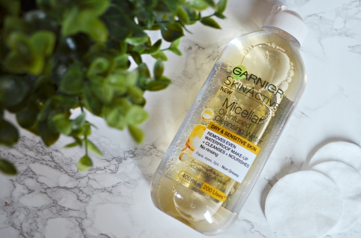 Review: Garnier Skin Active Micellar Water Oil Infused