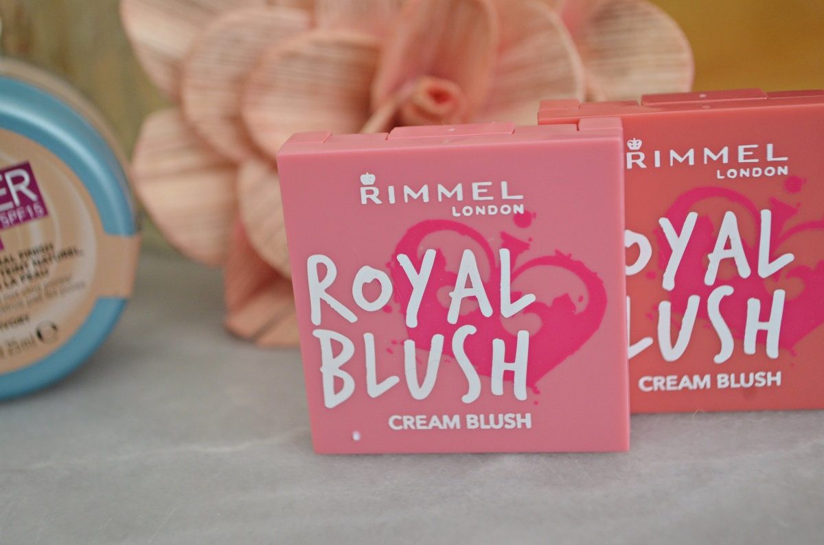 New: Rimmel Royal Blush Cream Blushes