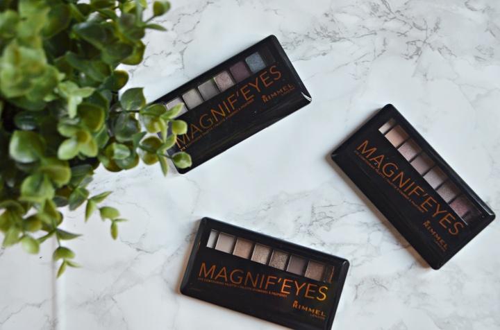 New : Rimmel Magnif-EyesPalettes