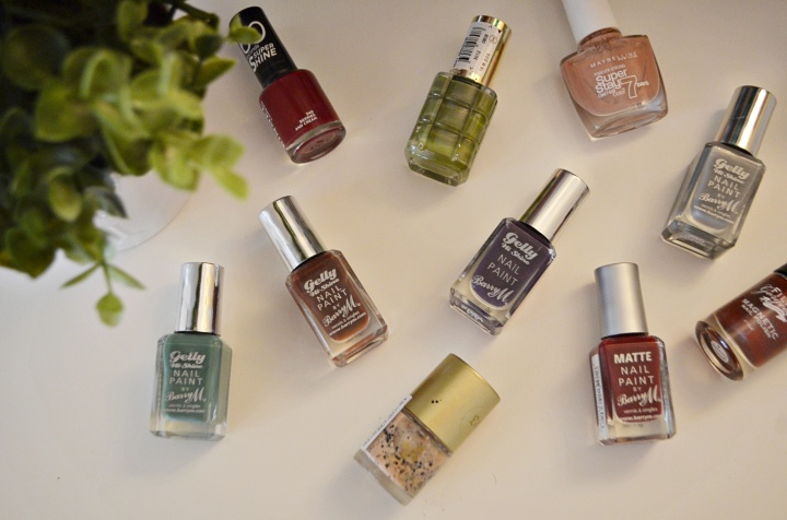 Top 10 Autumn Nail Polishes