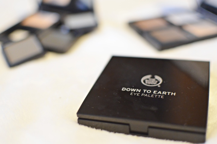 NEW: Body Shop Down To Earth Eye Palettes