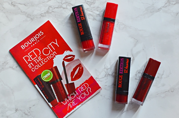 New: Bourjois Red In The City Collection