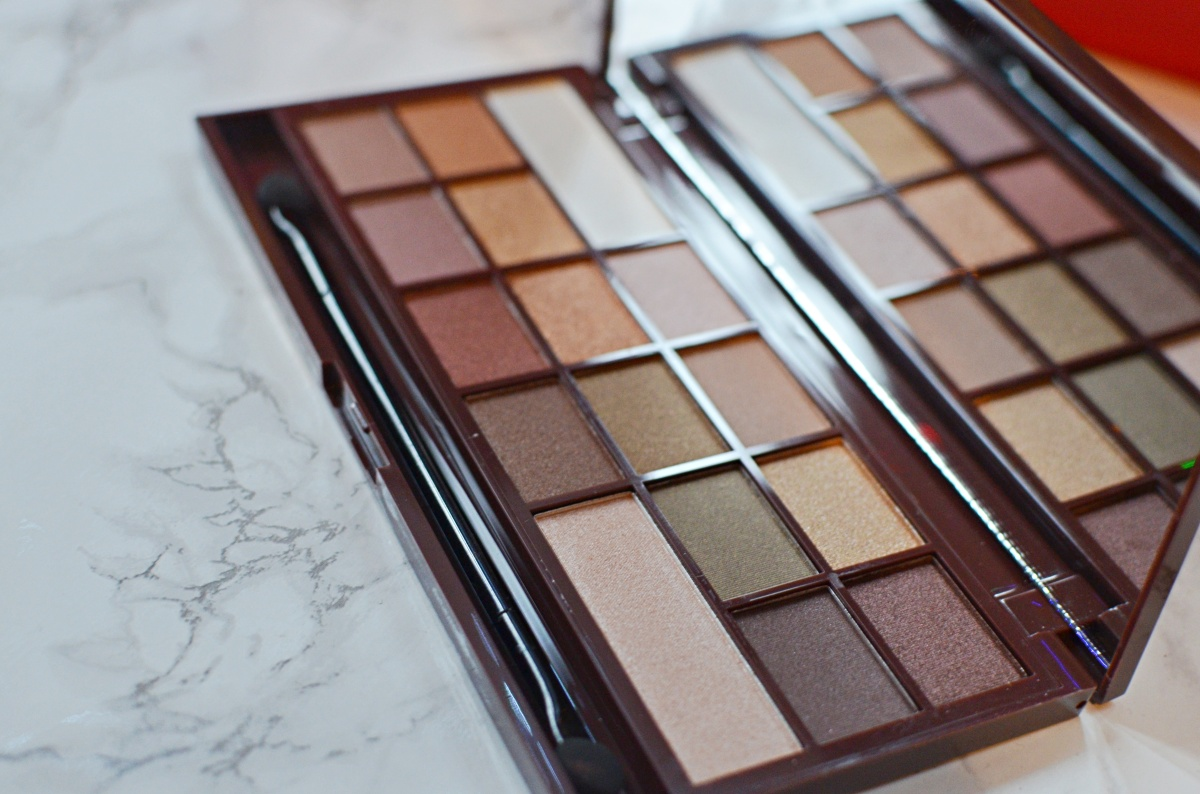 New | I Heart Makeup Golden Bar Palette