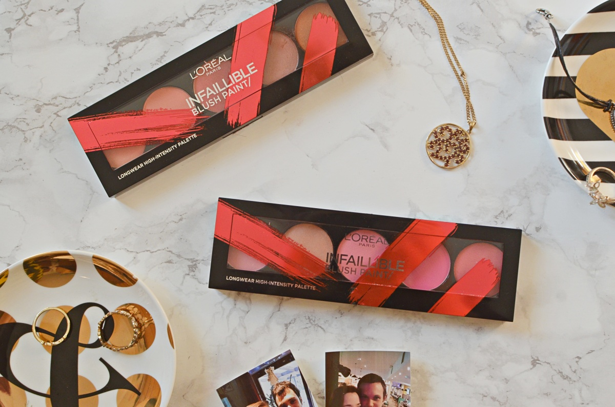 Infallible Paint Blush Palette by L'Oreal #11