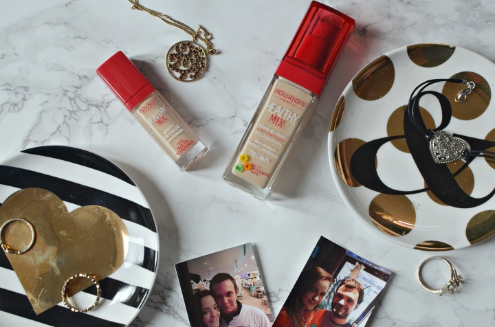 New | Bourjois Healthy Mix Foundation & Concealer