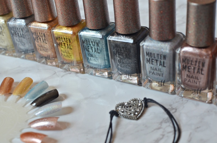 Barry M molten metals3
