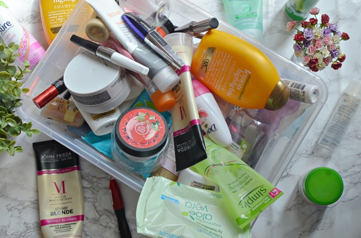 Empties April 2017