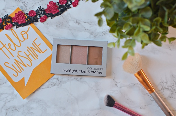 New | Collection Highlight, Blush & Bronze Palette