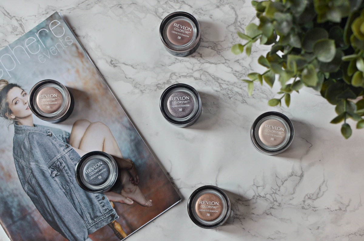 New | Revlon Colorstay Creme Eyeshadows