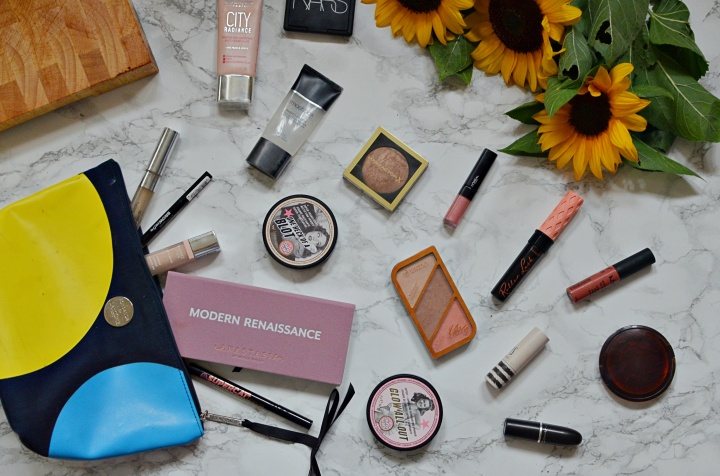 My Everyday Makeup Bag | August2017