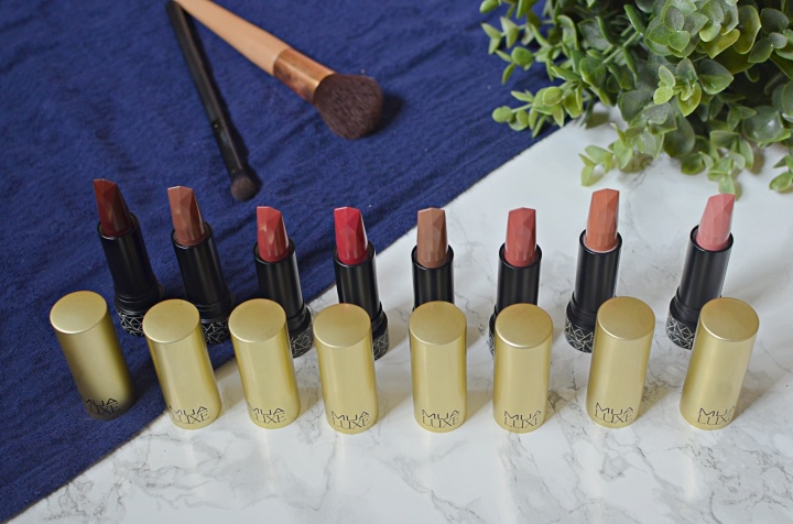 MUA lipsticks 1