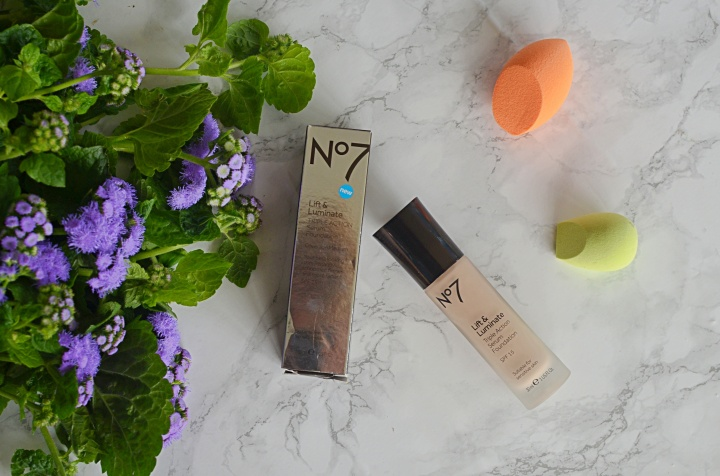 New In | No.7 Lift & Luminate Foundation