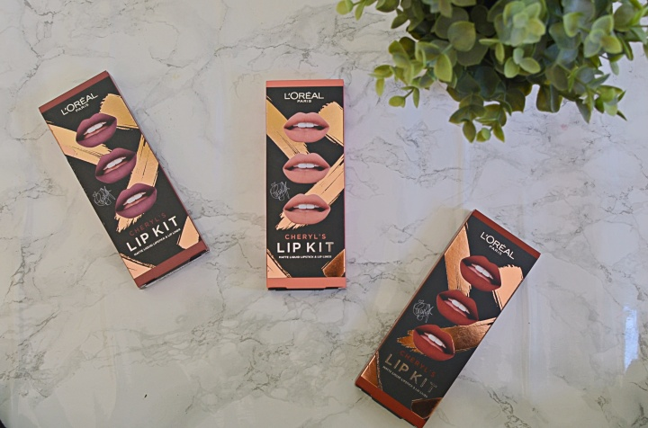 New | L'Oreal Cheryl's Lip Kits