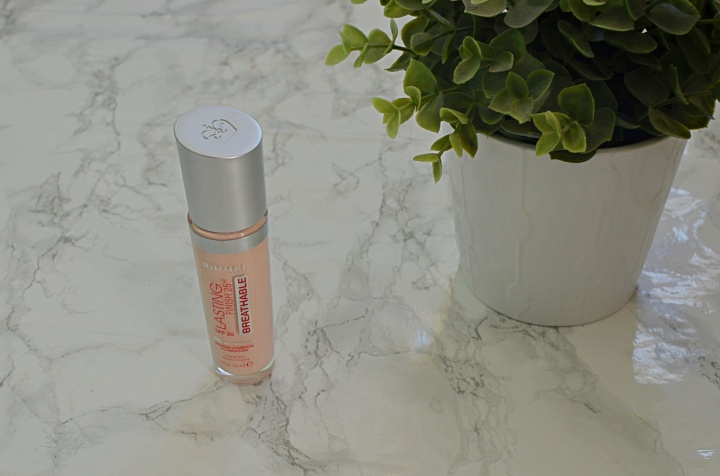 New | Rimmel Lasting Finish Breathable Foundation