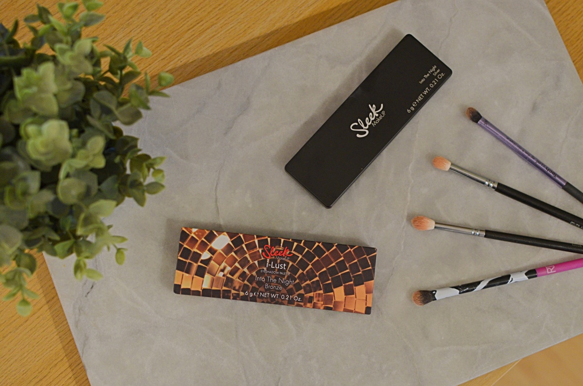 New | Sleek Into the Night Palettes