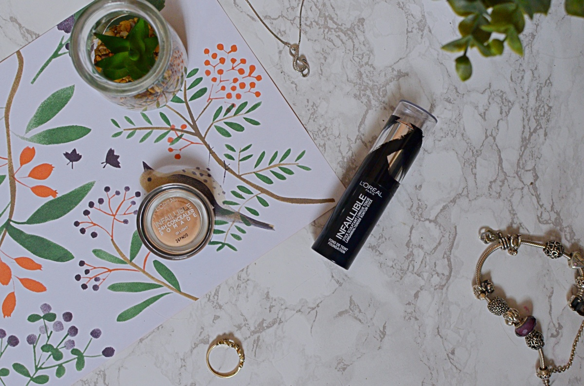 New | L'Oreal Infallible Foundation Stick and Concealer Pomade
