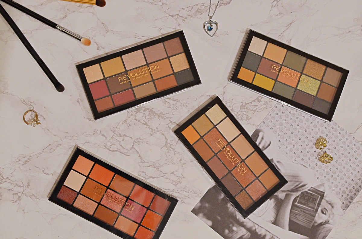 New | Revolution Reloaded Palettes