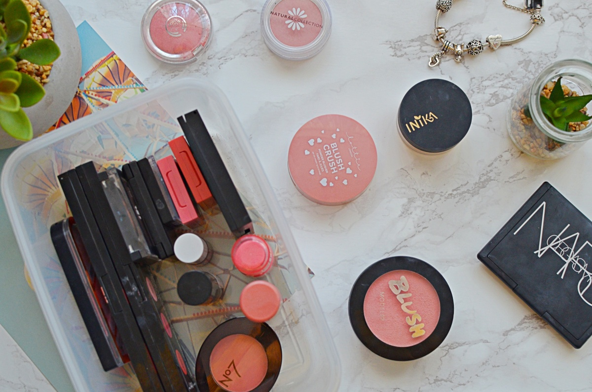 My Makeup Collection | Blushes