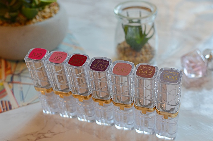 L'Oreal Lipsticks