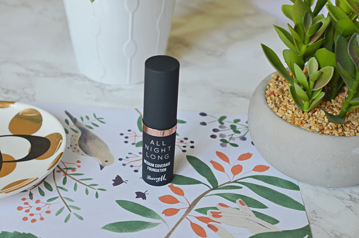 New | Barry M All Night Long Foundation Stick