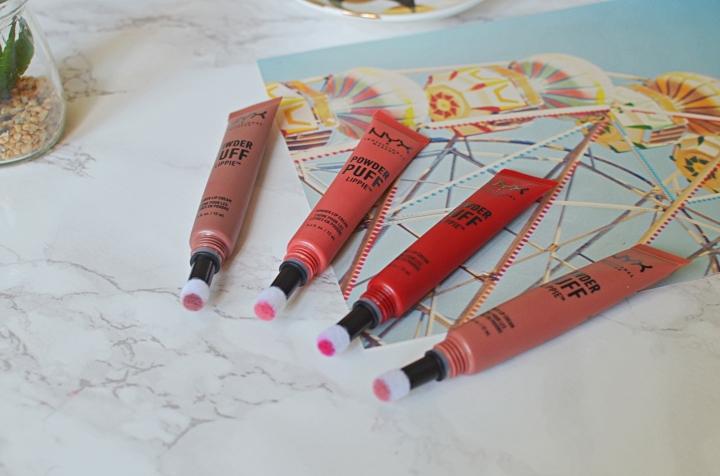 NYX Lipsticks 1