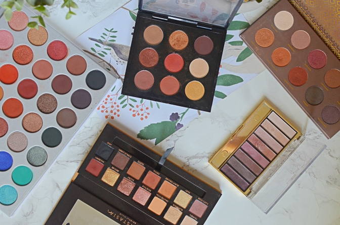 Top 5 Eyeshadow Palettes 2