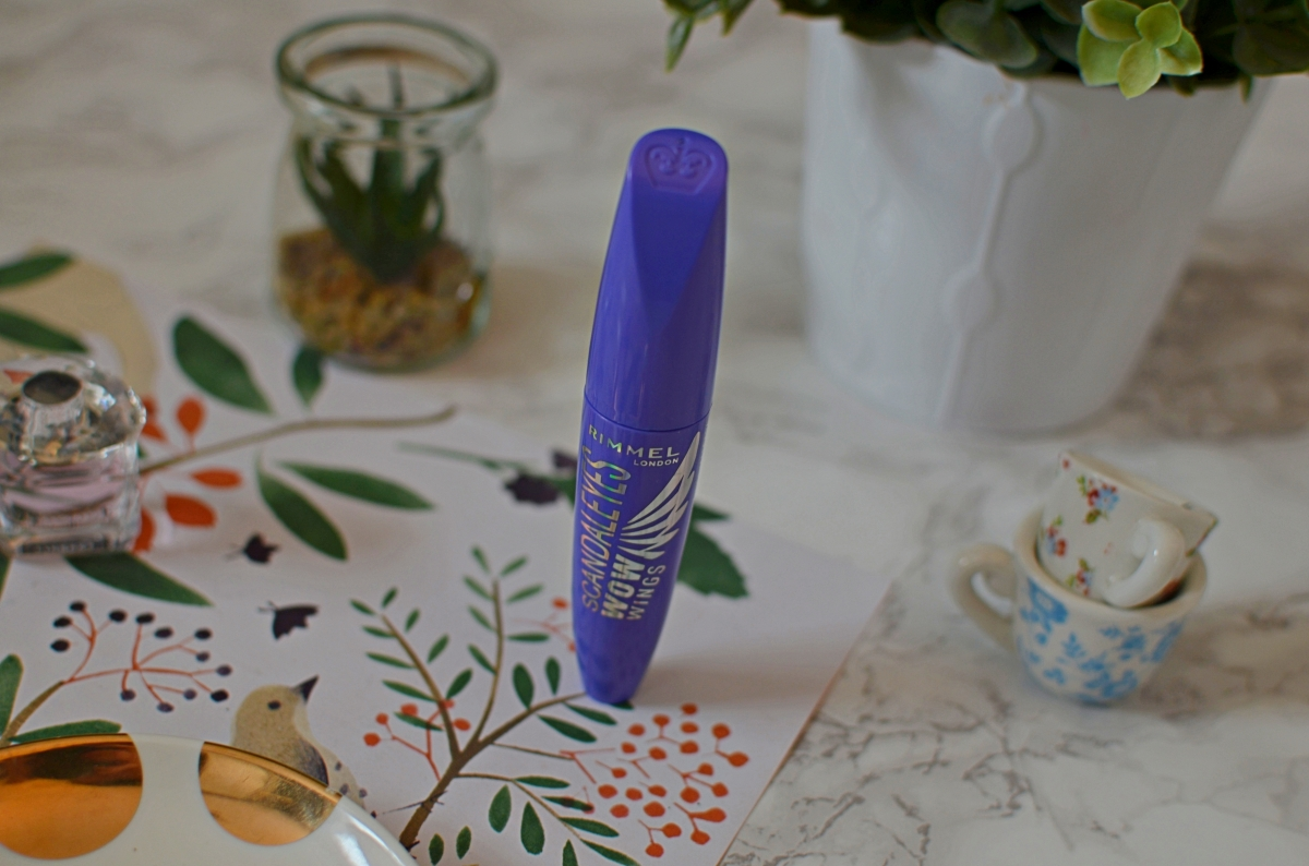 New | Rimmel Scandal Eyes Wow Wings Mascara