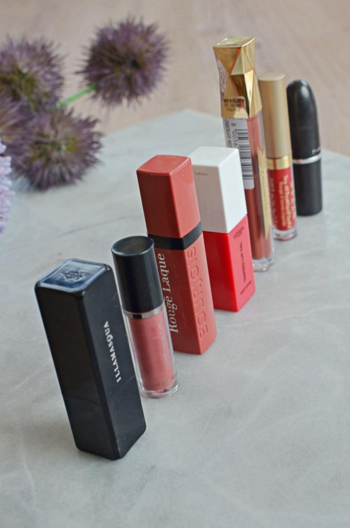 Week In Lipsticks 1