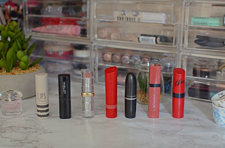 One Week in Lipsticks | July 18