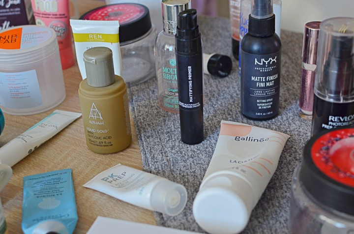 Empties July 2