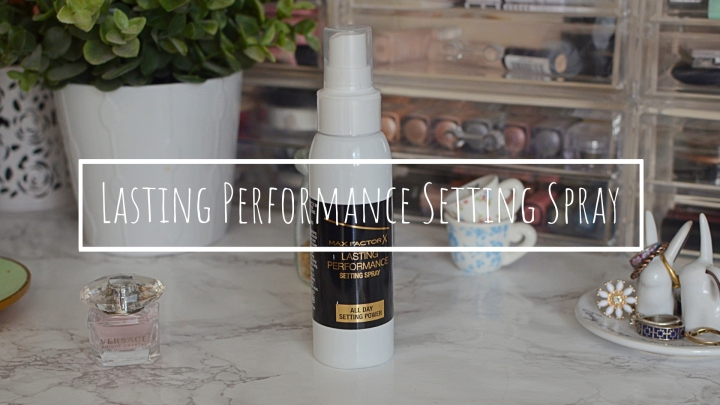 New | Max Factor Setting Spray