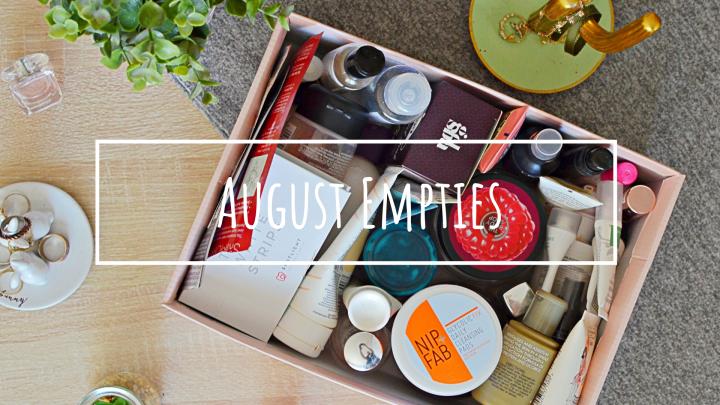 Empties | August2018