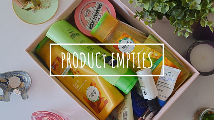 Product Empties & Mini Reviews | October 18