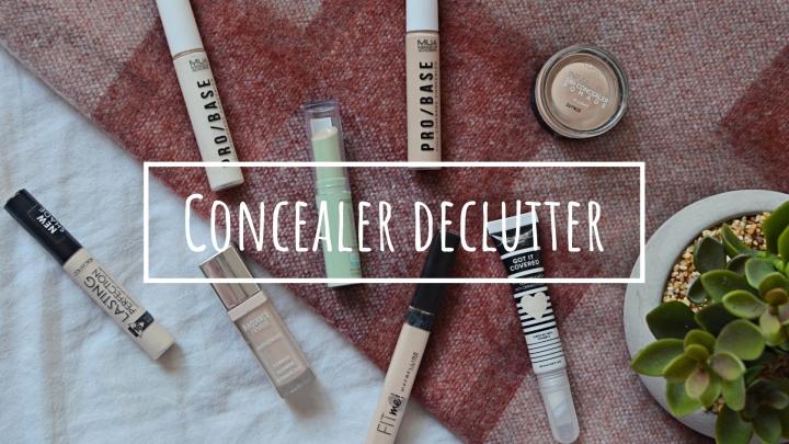 Concealer | Makeup Declutter18/19