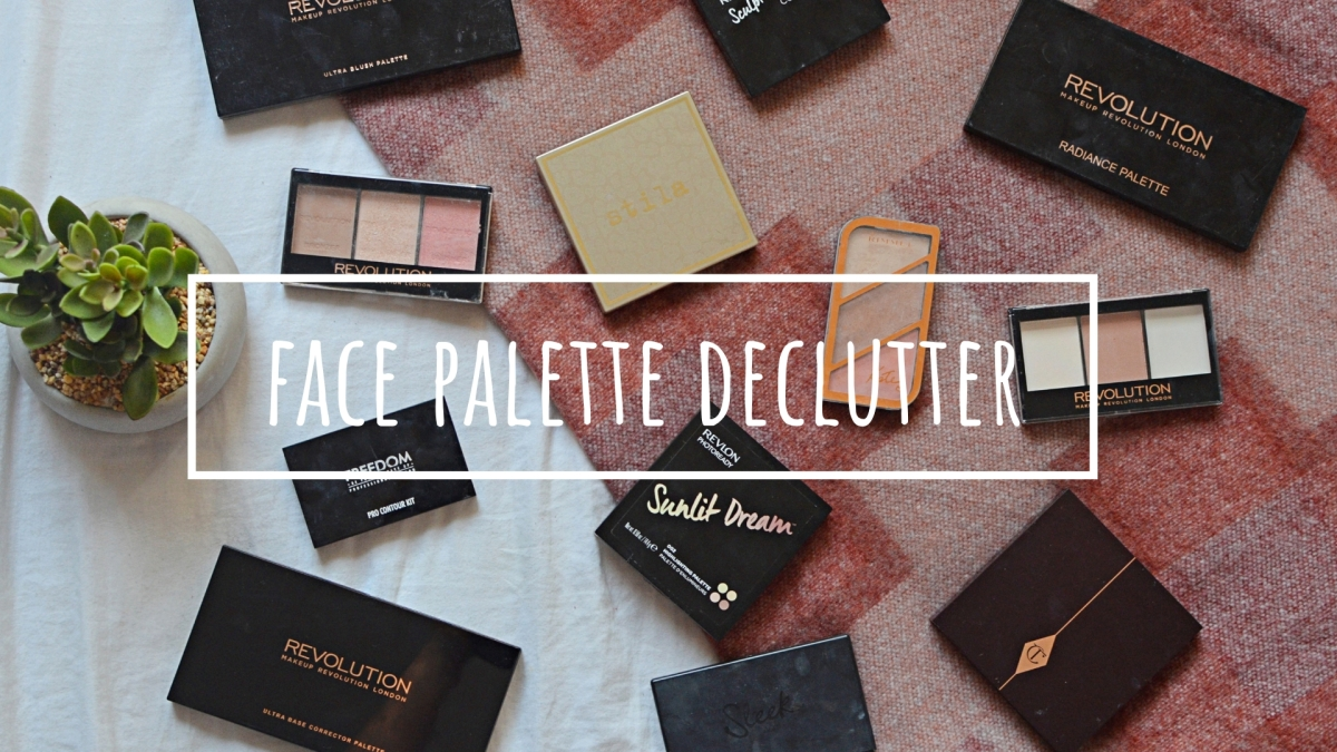 Face Palettes | Makeup Declutter 18/19
