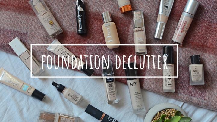 Foundation | Makeup Declutter18/19