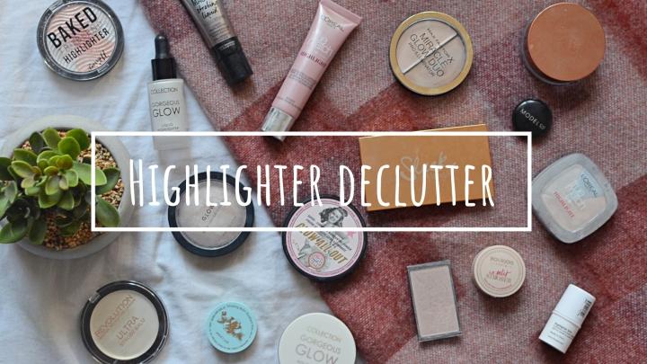 Highlight | Makeup Declutter18/19