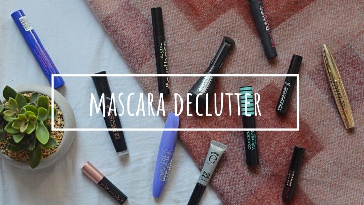 Mascara | Makeup Declutter18/19