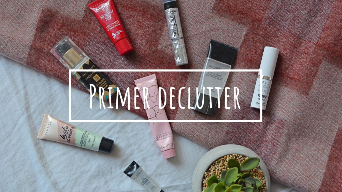 Primer | Makeup Declutter 18/19