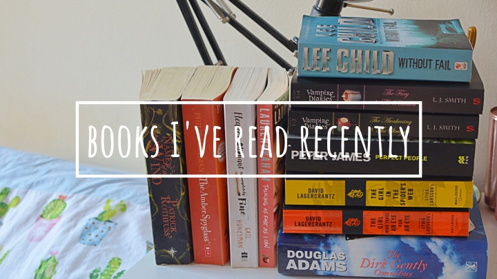 11 Books I've Read Recently