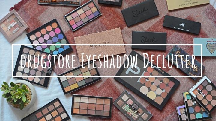 Drugstore Eyeshadow Palettes | Makeup Declutter18/19