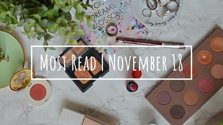 Most Read Blog Posts | November18