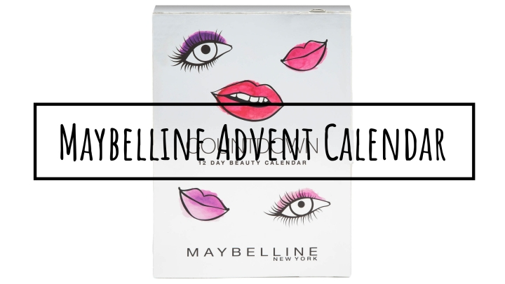 Maybelline Advent Calendar | SPOILER ALERT