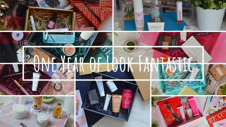 One Year of LookFantastic!